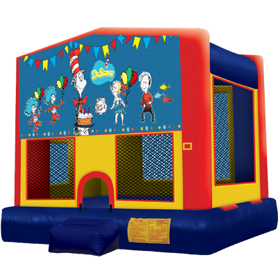 Dr. Suess Modular Bounce House