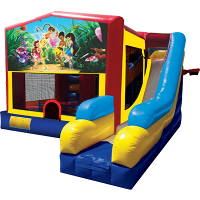 Fairies Modular 7n1 Combo Bounce House