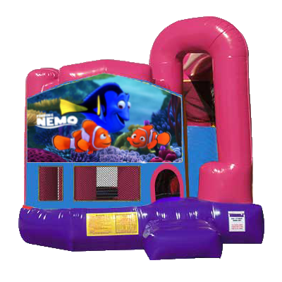 Finding Nemo Dream Backyard 4n1 Combo Bounce House