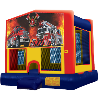Fire and Rescue Modular Bounce House