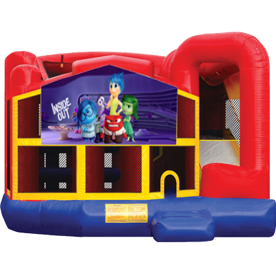 Inside Out Modular 5n1 Combo Bounce House