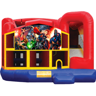 Justice League Modular 5n1 Combo Bounce House
