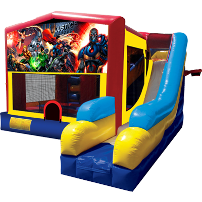 Justice League Modular 7n1 Combo Bounce House