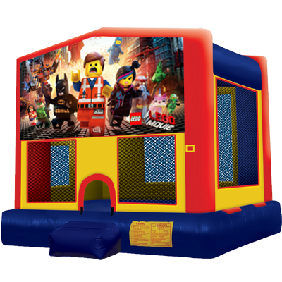 Admirable Lego Modular Bounce House Inflatable Bouncer Rental Home Interior And Landscaping Ferensignezvosmurscom
