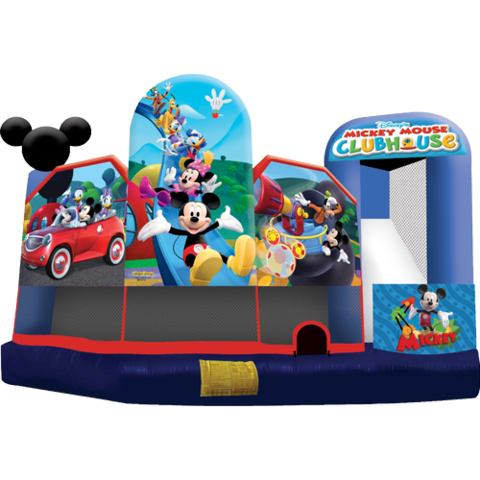 Mickey Mouse Clubhouse 5n1 Combo Bounce House