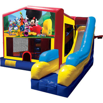 Mickey Mouse Modular 7n1 Combo Bounce House