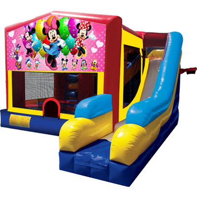 Minnie Mouse Modular 7n1 Combo Bounce House