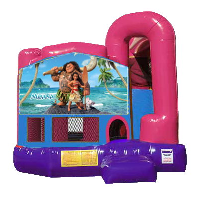 Moana Dream Backyard 4n1 Combo Bounce House