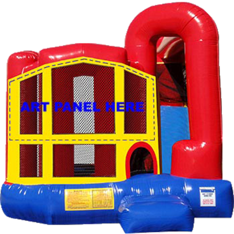 Modular Backyard 4n1 Combo Bounce House