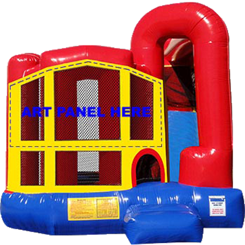 Modular Backyard 4n1 Combo Bouncer with Slide