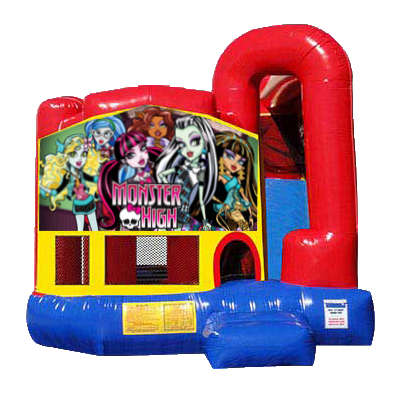 Monster High Modular Backyard 4n1 Combo Bounce House
