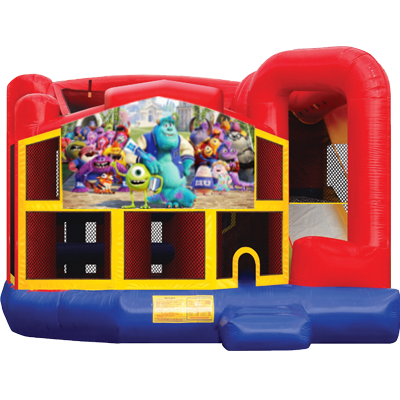 Monsters Inc. Modular 5n1 Combo Bounce House
