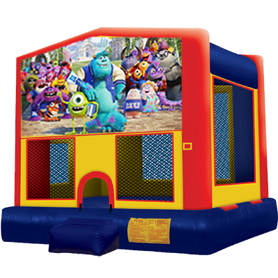Monsters Inc. Modular Bounce House