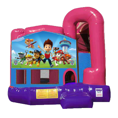 Paw Patrol Dream Backyard 4n1 Combo Bounce House