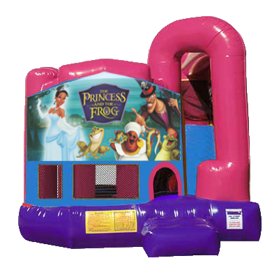 Princess and the Frog Dream Backyard 4n1 Combo Bounce House