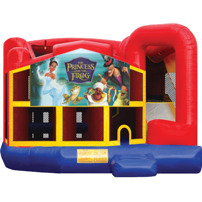 Princess and the Frog Modular 5n1 Combo Bounce House