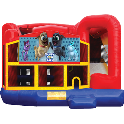Puppy Dog Pals Modular 5n1 Combo Bounce House