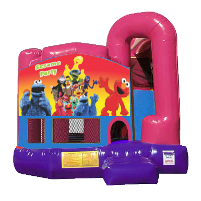 Sesame Street Dream 4n1 Combo Partyzone Event Rentals