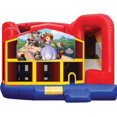 Sofia the First Modular 5n1 Combo Bounce House