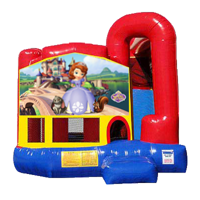 Sofia the First Modular Backyard 4n1 Combo Bounce House