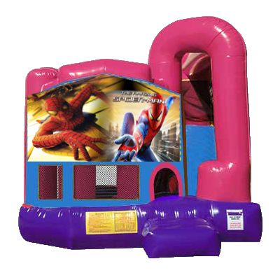 Spiderman Dream Backyard 4n1 Combo Bounce House