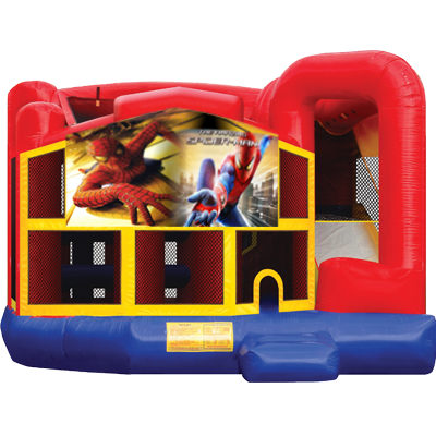 Spiderman Modular 5n1 Combo Bounce House
