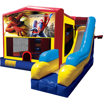 Spiderman Modular 7n1 Combo Bounce House