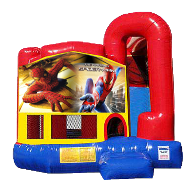 Spiderman Modular Backyard 4n1 Combo Bounce House