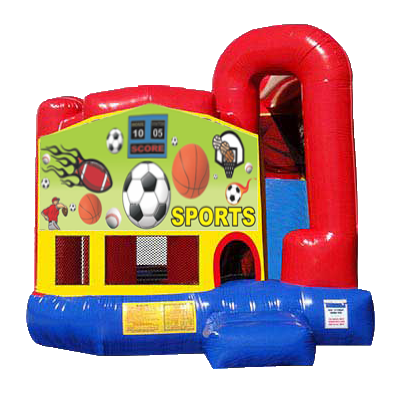 Sports Modular Backyard 4n1 Combo Bounce House