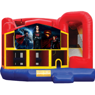 Superman Modular 5n1 Combo Bounce House