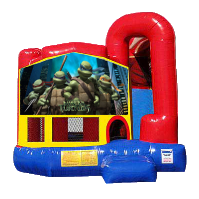 Teenage Mutant Ninja Turtles Modular Backyard 4n1 Combo Bounce House