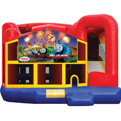 Thomas the Train Modular 5n1 Combo Bounce House