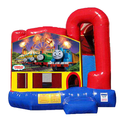 Thomas the Train Modular Backyard 4n1 Combo Bounce House