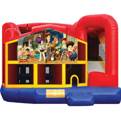 Toy Story Modular 5n1 Combo Bounce House