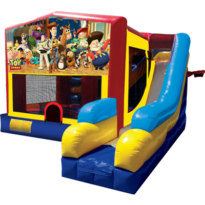 Toy Story Modular 7n1 Combo Bounce House