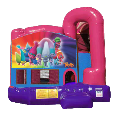 Trolls Dream Backyard 4n1 Combo Bounce House
