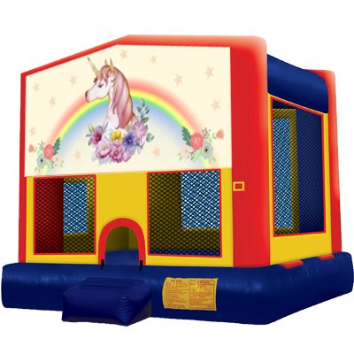 Unicorn Modular Bounce House