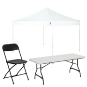 10x10 Tent Party Package