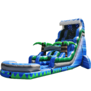 22ft Tropical Tsunami Water Slide