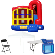 4n1 Combo Bouncer Backyard Ultimate Party Package