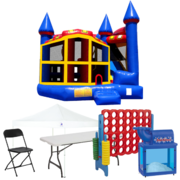5n1 Combo Bouncer Backyard Premium Party Package