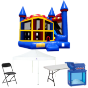 5n1 Combo Bouncer Backyard Ultimate Party Package