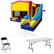 7n1 Combo Bouncer Backyard Party Package