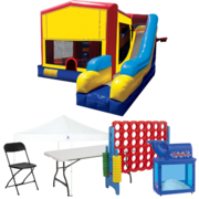 7n1 Combo Bouncer Backyard Premium Party Package