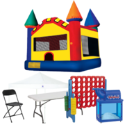 Bounce House Backyard Premium Party Package