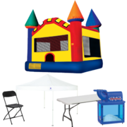 Bounce House Backyard Ultimate Party Package
