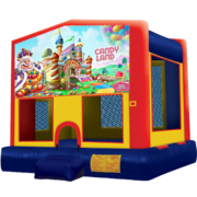 Candyland Modular Bounce House