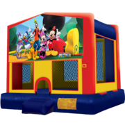 Mickey Mouse Modular Bounce House