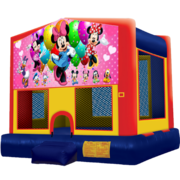 Minnie Mouse Modular Bounce House