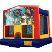 Princess and the Frog Modular Bounce House